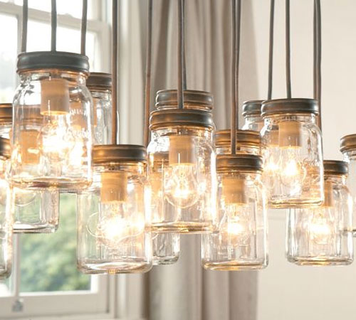 Mason Jar Light Pendant | Thesavvyseeker