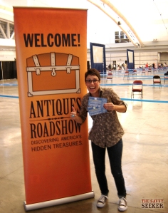 Antiques Roadshow Entrance