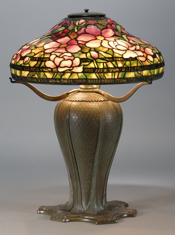 How about this Tiffany lamp from Skinner Auctions? Not too shabby...