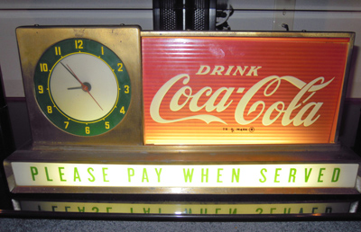 "I think I'd place this on my kitchen table...since it says ""Please pay when served."" Maybe I could make some tips at dinner time!"
