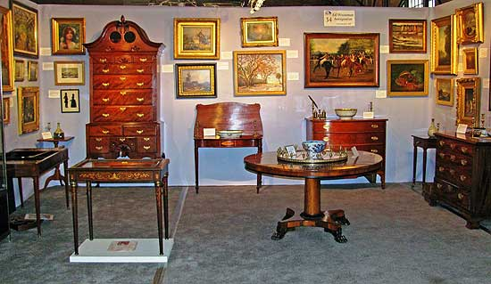 If you are serious about early American furniture and decor, then this is the show for you!