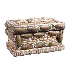 Victorian Shell Mounted Keepsake Box