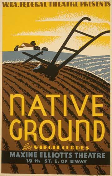 native_ground_vintage_poster