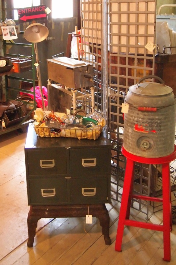 Some of Margo's treasures can be found at local antique malls in Texas...