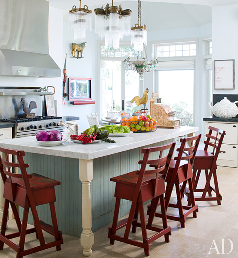 What do you think about Sharon Osbournes country inspired kitchen?