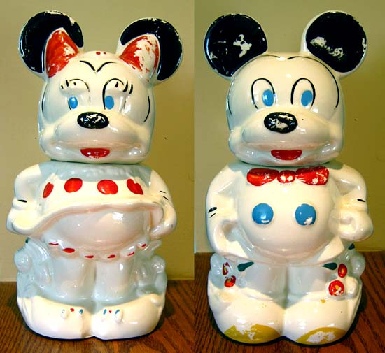 Any Disney collectors out there? If so and you know something about this cookie jar, let us know!
