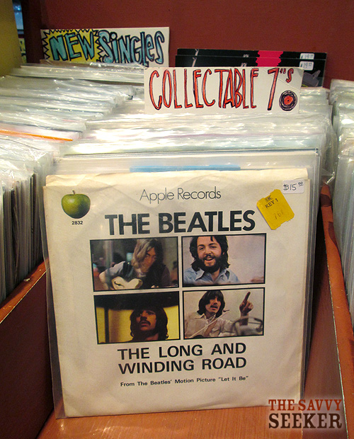 Here's a 45 I can get down with...anything by the Beatles...
