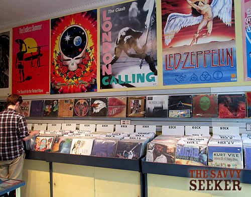Find what you're looking for...most records range in price from $40 - $3.