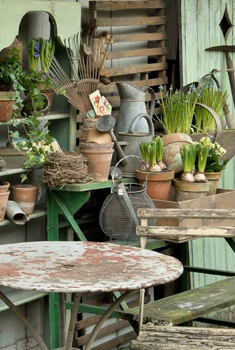Lots of vintage and antique treasures to be found at the Vintage Home Market.