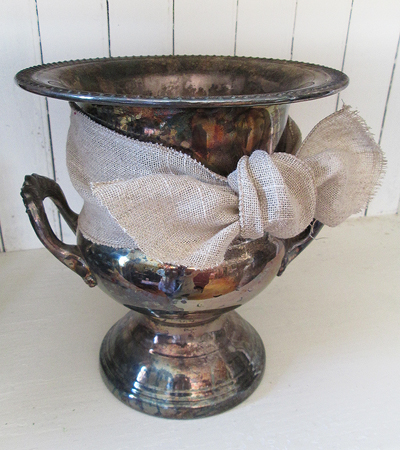 This awesome silver plated champagne bucket sold within hours of going up in the Etsy shop.