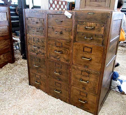 antique_oak_filing_cabinets