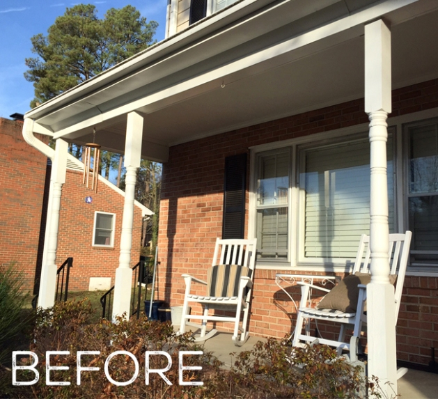Porch Column Makeover Faux Real Thesavvyseeker